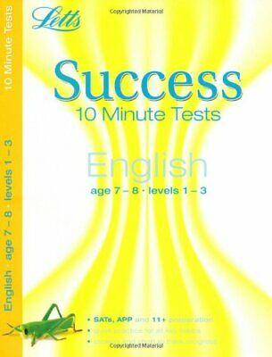 English Age 7-8: 10-Minute Tests (Letts Key Stage 2 Success) Paperback Book The