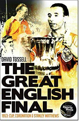 The Great English Final by David Tossell Book The Cheap Fast Free Post