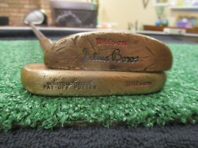 Vintage Wilson Sam Snead Pay-Off and Julius Boros Putters