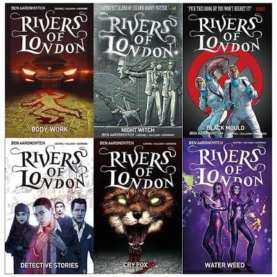Rivers of London Series (Vol 1-6) Detective Stories Cry 6 Books Collection Set