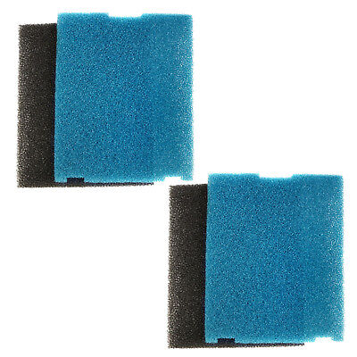 2-Pack HQRP Coarse and Flat Box Filter Pad for Tetra Submersible Pond Filters