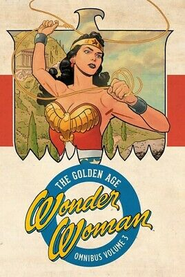 Wonder Woman: The Golden Age Omnibus Vol. 3 [New Books] Graphic Novel, Hardcov
