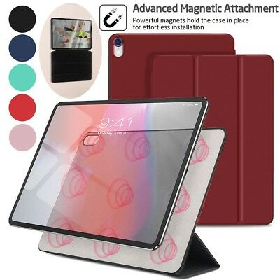 For Apple iPad Pro 11 Inch Slim Magnetic Auto Sleep /Wake PU leather Case Cover