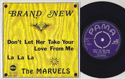 The MARVELS * 1970 SKA SKINHEAD REGGAE FUNK * Belgian Pama 45 * Hear It!