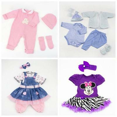 Bebe Girl Boy Newborn Doll Clothing Baby Accessory Custom Made Outfit Xmas Gift