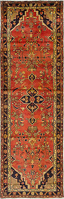 "Hand-knotted Persian Carpet 3'6"" x 11'3"" Traditional Wool Rug"