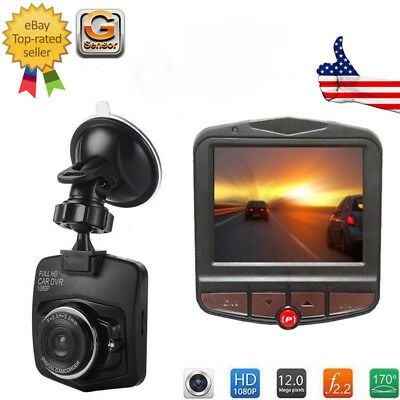 Car DVR Video Recorder Night Vision G Sensor Camera 1080P HD Vehicle Dash Cam CA