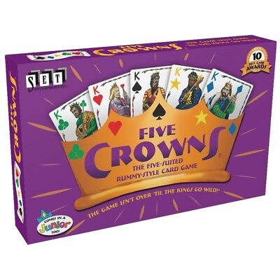 Five Crowns Rummy Card Game, Card Games by Set Enterprises  HOT GAME!