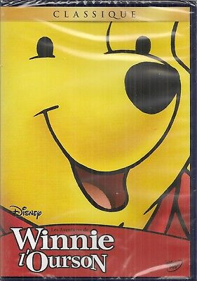 "DVD ""Les Aventures de Winnie l'Ourson""  Disney  n 28    NEUF SOUS BLISTER"