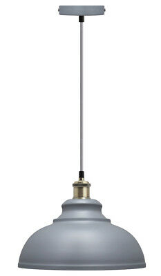 Vintage Industrial Metal Ceiling Pendant Shade Modern Hanging Retro Light M0089