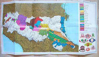 1970 Basket Geographical Of Production Dei Wines From'emilia-Romagna
