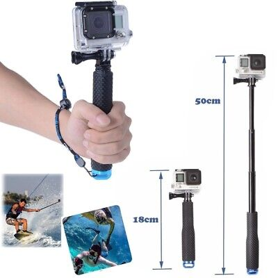 for Gopro Hero 7 6 5 4 3 2 Waterproof Monopod Tripod Selfie Stick Pole Handheld