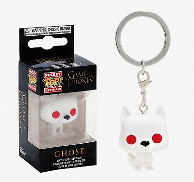 Funko Pocket Pop Keychain Game of Thrones™: Ghost Vinyl Figure Keychain #34910