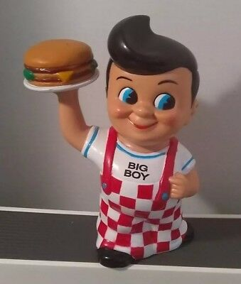 1999 BIG BOY Hamburger Coin Bank Restaurant Funko Products Tall