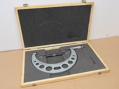 Oxford Precision 175mm - 200mm External Outside Micrometer In Box ME1898