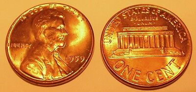 USA 1 Cent 1959 Lincoln red UNC/BU