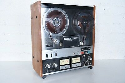 Vintage TEAC A-4300 REEL TO REEL TAPE Player Recorder