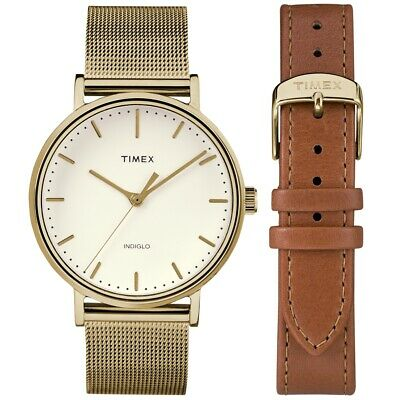 Timex TWG016600 Ladies Fairfield Watch and Strap Gift Set