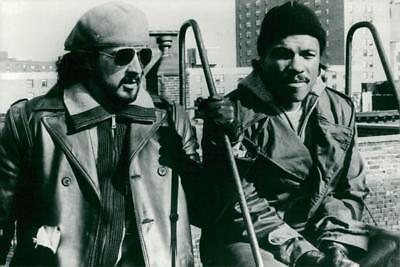 """Sylvester Stallone and Billy Dee Williams in the movie """"Nighthawks"""" -"""