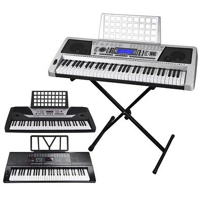 61 Key Electric Keyboard Digital Piano Instrument Kids Talent Practise Xmas Gift
