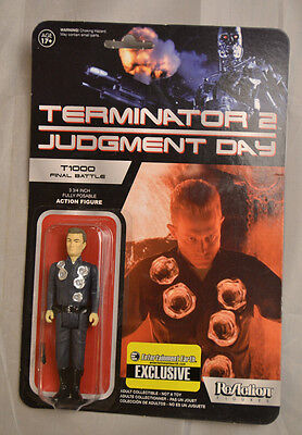 "Funko ReAction Terminator 2 T1000 Final Battle 3.75"" Action Figure New"