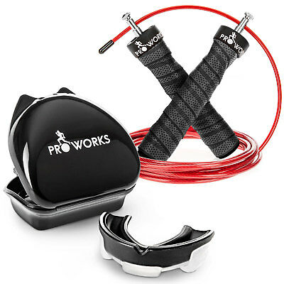 Christmas Gift Set Includes Adjustable Gym Skipping Rope & Sports Mouth Guard