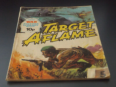 WAR PICTURE LIBRARY NO 1276!,dated 1976!,GOOD for age,great 42!YEAR OLD issue.