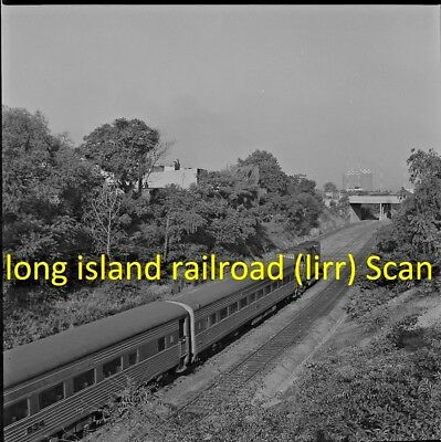 Long Island Railroad Original B&w Railroad Negative Engine 202 At Eliot Ave 1968