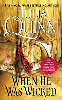 When He Was Wicked (Bridgertons) by Julia Quinn (author) Book The Cheap Fast