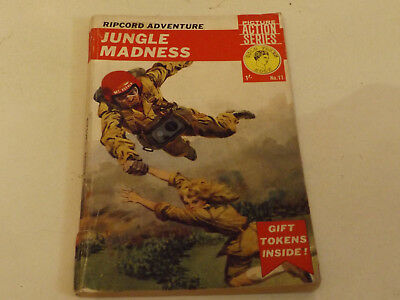RIPCORD ADVENTURE LIBRARY,NO 11,1964 ISSUE,GOOD FOR AGE,54 yrs old,RARE COMIC.