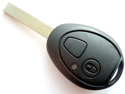 Replacement 2 button key case for Rover 75 MG ZT remote fob