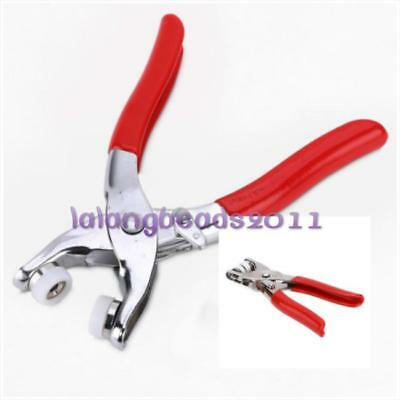 Metal Prong Pliers Ring Press Studs Snap Popper Fasteners Dummy Clip Tool CB