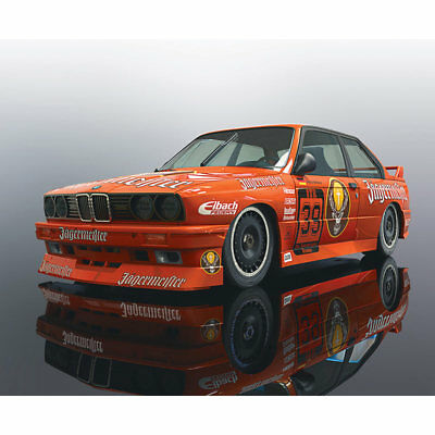 SCALEXTRIC Slot Car C3899 UnBoxed 1988 BMW M3 E30 Mario Ketterer DTM