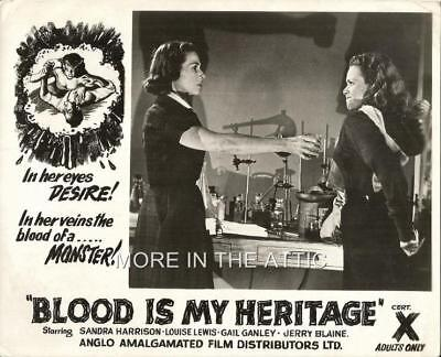 Blood Of Dracula Original Vintage Sci Fi Horror Front Of House Still