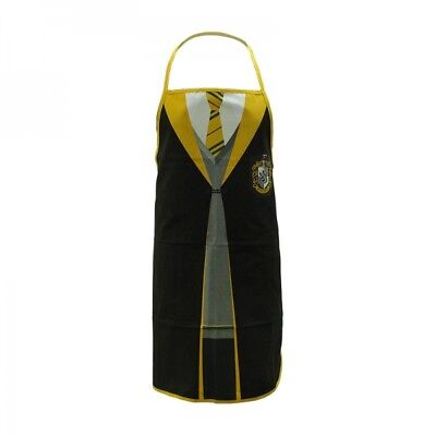 Official Harry Potter Hufflepuff Hogwarts School Uniform Kitchen Apron
