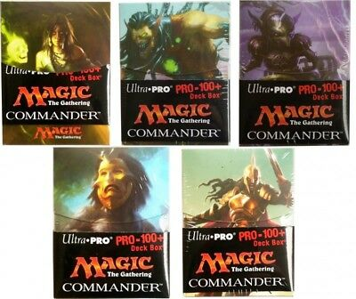 Ultra Pro Deckbox 100+ - Commander 2015 Deck Box Magic the Gathering MtG