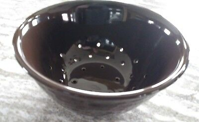 Longaberger VERY RARE Berry Colander Chocolate Mint in box never used!