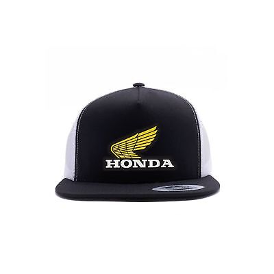 0ad1009a175 FACTORY EFFEX HONDA Vintage Snapback Hat-White Black - Mens -  23.95 ...