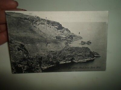 St Abbs Head From Kirk Hill, J Purvis General Dealer Coldingham 1905  §B2459