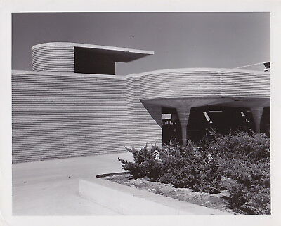 FRANK LLOYD WRIGHT: S.C. Johnson & Co Racine WI**VINTAGE1967 Architectural photo