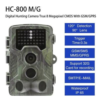 1080P 16MP 3G 4G Hunting Scout Trail Video Camera Night Vision Game Cam IR LED