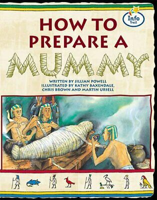 How to prepare a Mummy Info Trail Fluent Book 1 (L... by Coles, Martin Paperback