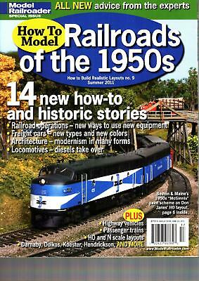 RAILROADS OF THE 1950s PASSENGER TRAINS_FREIGHT CARS_CABOOSES_STRUCTURES_VEHICLE