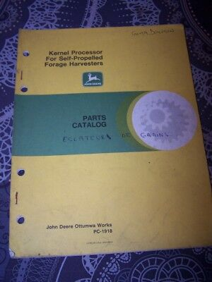 7Z Parts catalog John deere Kernel Processor Self Propelled Forage harvesters