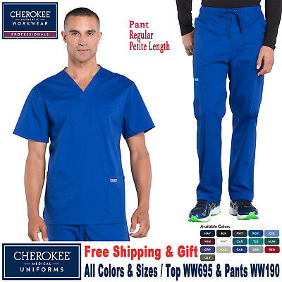 Cherokee Scrubs Satz Professionell Herren Top & Hose _ WW695/WW190 _ Regular