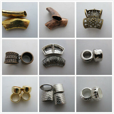 20 Mix Styles Scarf Ring Bigger Various Sizes SP GP Jewellery & Crafting Making