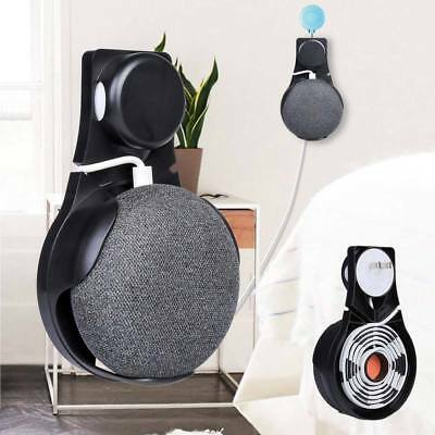 Wall Outlet Mount Holder Hanger Stand Grip Google Home Mini Voice Assistants SL