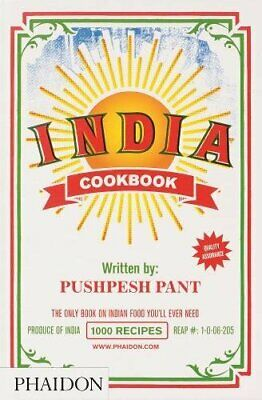 India - Cookbook by Pant, Pushpesh Hardback Book The Cheap Fast Free Post