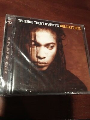 TERENCE TRENT D'ARBY Greatest Hits Cd 2 Disc NEW SEALED