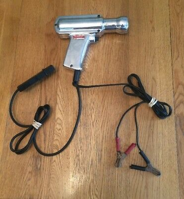 Vintage Kal-Equip Tunemaster Timing Light  6/12 Volt, Model L-10